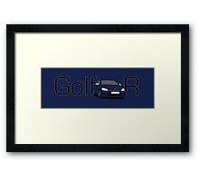 Volkswagen Golf MK7 R Framed Print