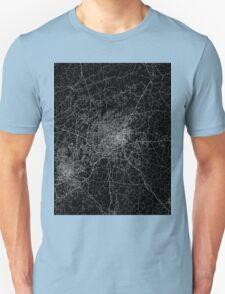 Greensboro map North Carolina Unisex T-Shirt