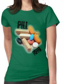 PILL POPPER Womens Fitted T-Shirt