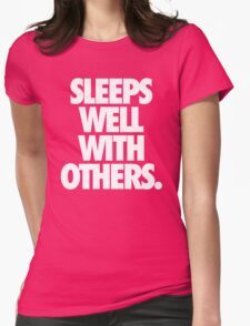 SLEEPS WELL WITH OTHERS. - Alternate T-Shirt