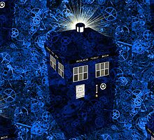 TARDIS Illustrated- Clockwork by zenjamin