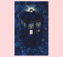 TARDIS Illustrated- Clockwork Kids Tee
