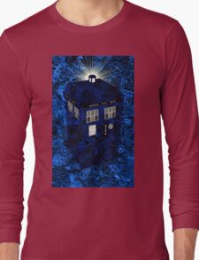 TARDIS Illustrated- Clockwork Long Sleeve T-Shirt