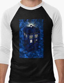 TARDIS Illustrated- Clockwork Men's Baseball ¾ T-Shirt