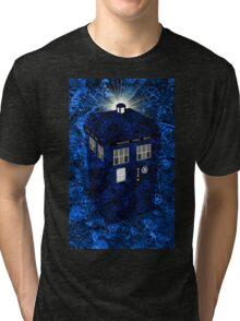 TARDIS Illustrated- Clockwork Tri-blend T-Shirt