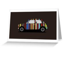 Classic Mini Paul Smith Greeting Card
