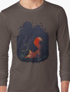 Firefly Fox - Red Long Sleeve T-Shirt