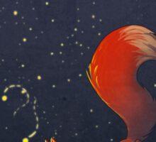Firefly Fox - Red Sticker