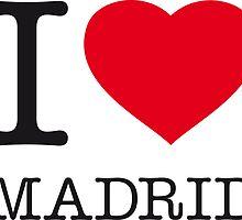 I ♥ MADRID by eyesblau