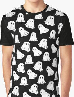 Spooky Spooky Ghosts Graphic T-Shirt