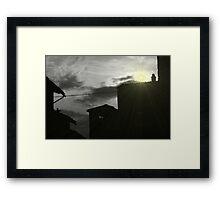 Surreal Sun Framed Print