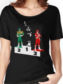 Black Ranger Power Women's Relaxed Fit T-Shirt