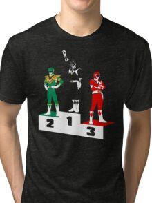 Black Ranger Power Tri-blend T-Shirt