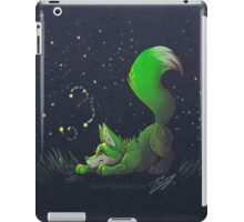 Firefly Fox - Green iPad Case/Skin