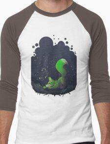 Firefly Fox - Green Men's Baseball ¾ T-Shirt