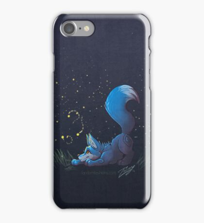 Firefly Fox - Blue iPhone Case/Skin