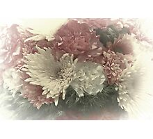 Milky Bouquets Photographic Print