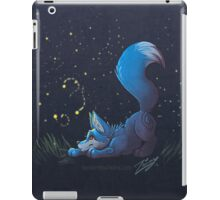 Firefly Fox - Blue iPad Case/Skin