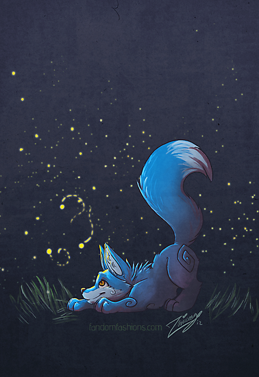 Firefly Fox - Blue by Zhivago