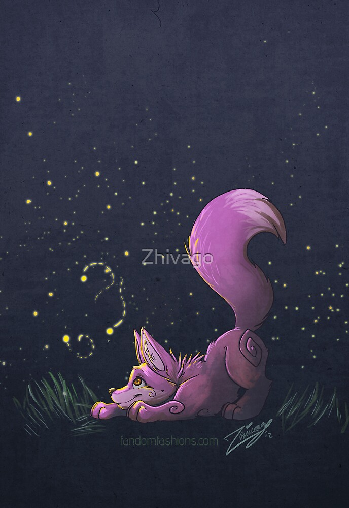 Firefly Fox - Pink by Zhivago