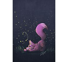 Firefly Fox - Pink Photographic Print
