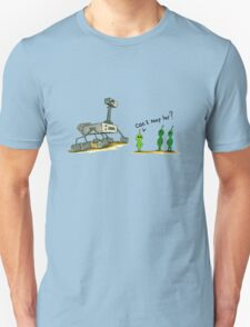 Curiosity Meets the Locals T-Shirt