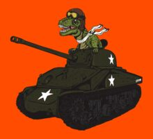 T-Rex in a Tank Kids Clothes