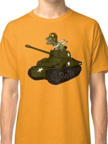 T-Rex in a Tank Classic T-Shirt