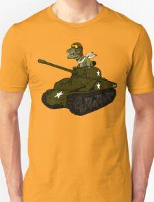 T-Rex in a Tank Unisex T-Shirt