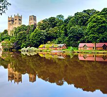 Durham Cathedral by David Lewins