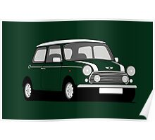 Classic Mini Cooper S Works Poster