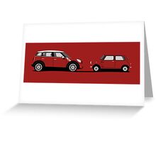 Mini Comparison Greeting Card