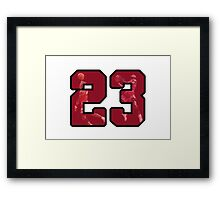 #23 Framed Print