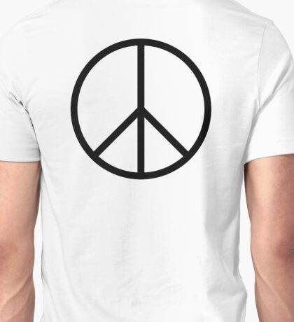 Ban the Bomb, Peace, symbol, Old school, original, CND, Trident, Campaign for Nuclear Disarmament Unisex T-Shirt