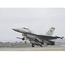F-16 Singapore Air Force Photographic Print