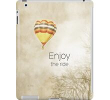 Enjoy the Ride! iPad Case/Skin