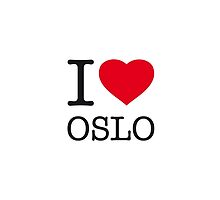 I ♥ OSLO by eyesblau