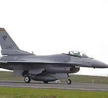 F-16 taxi Singapore Air Force by Daniel McIntosh