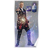 Galactic Peter Capaldi Poster