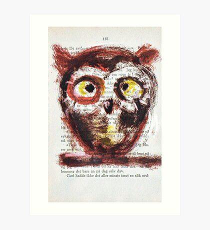 """Coffee was goo-ood!"" Art Print"