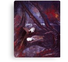 Faust In The Forest Canvas Print