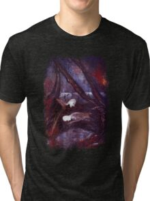 Faust In The Forest Tri-blend T-Shirt