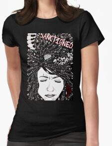 Sanctioned Womens Fitted T-Shirt