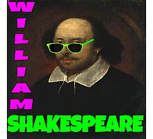 William Shakespeare, London Calling Photographic Print