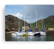 Rafted at InchKeith Canvas Print