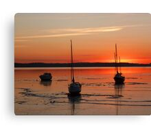 UFBC sunrise Canvas Print
