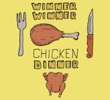 Winner Winner Chicken Dinner: Loud and Proud Rotisserie Chicken Windfall Kids Tee