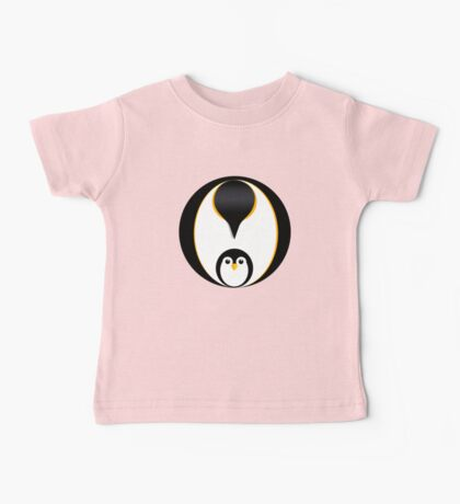 'In Pole Position' - Penguin T-Shirt Baby Tee