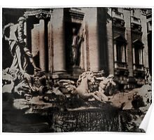 The Iconic Trevi Fountain Poster