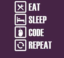 Eat Sleep Code Repeat Unisex T-Shirt